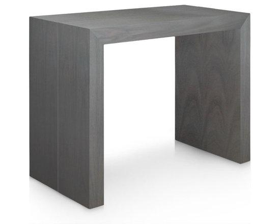 Inside 75 console extensible illusion bois vintage for Table console extensible 10 personnes