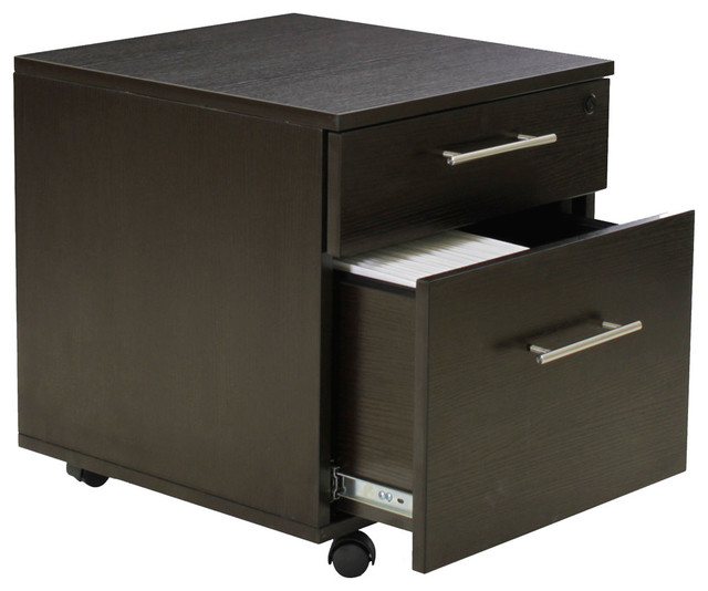 Pedestal File Cabinet - Modern - Filing Cabinets - by Organize-It