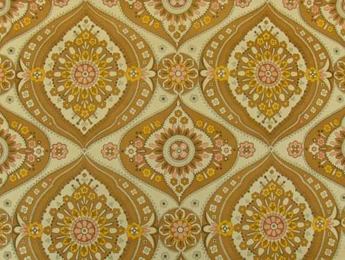 Farve/nyt tapet med mønster til soveværelse