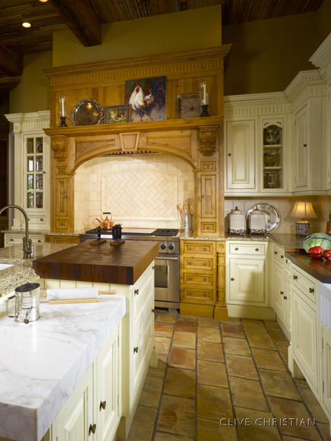 Clive christian kitchen in antique french oak cream for Clive christian bathroom designs