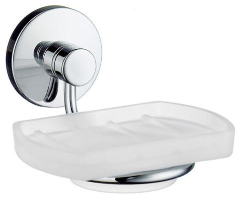studio collection wall mount soap dish modern bathroom