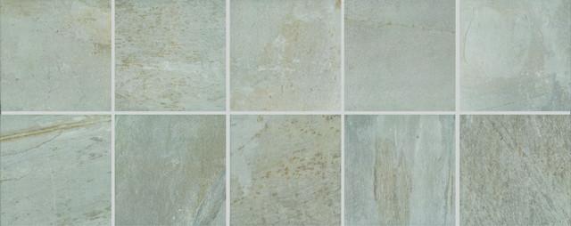 Exterior: Slightly Textured Stone-look , Floor