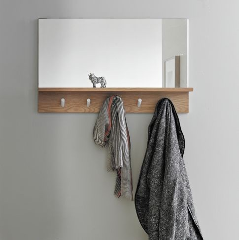 peggy mirror modern wall hooks by west elm. Black Bedroom Furniture Sets. Home Design Ideas
