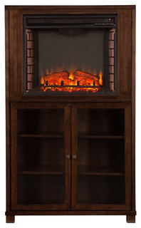 Greenland Electric Fireplace Storage Tower