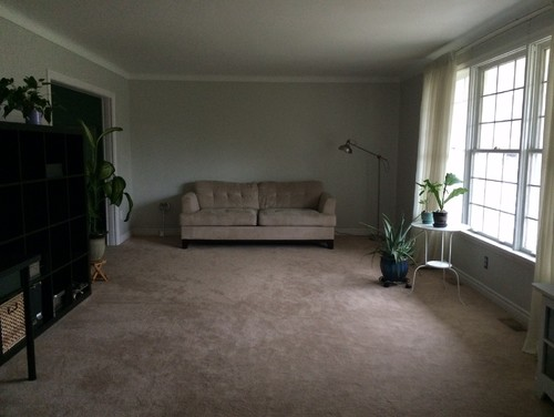 Furniture layout for long living room for Laying out living room furniture