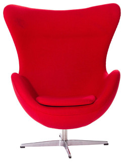 red egg chair replica. Black Bedroom Furniture Sets. Home Design Ideas