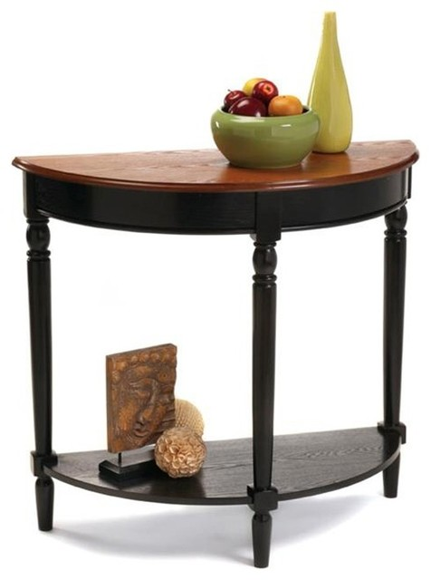 Foyer Furniture Uk : French country entryway table w shelf contemporary