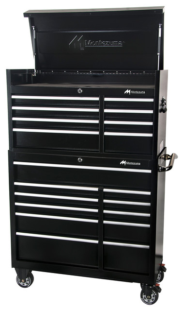 11-Drawer Roller Cabinet Toolbox - Traditional - Garage And Tool Storage - by Montezuma Mfg., Inc