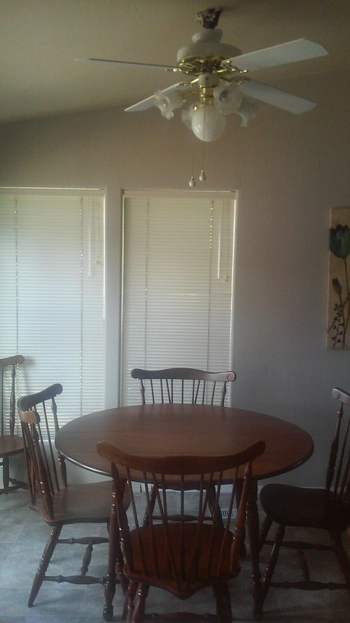 please help with lighting for casual dining area