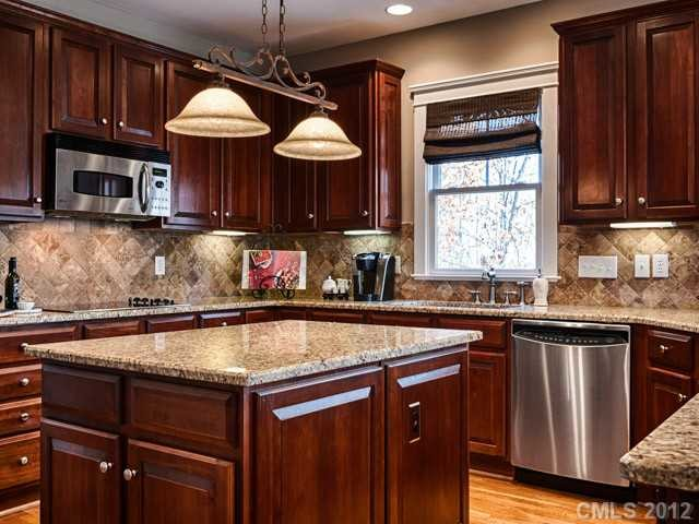 Kitchen Cabinets- Before and After