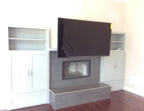 Tv Above Fireplace Problem Solved