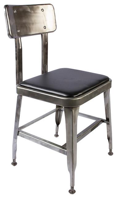 Dulton standard chair raw industrial sillas de for Sillas para comedor industrial