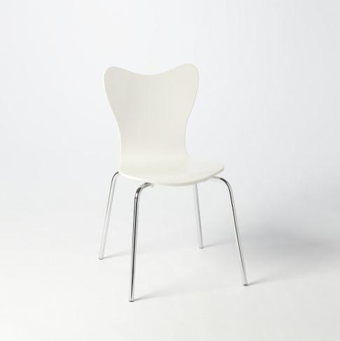 Modern White Chair. Modern White Chairs Dining N Chair T