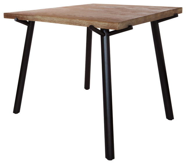 Blu Dot Branch Square Dining Table Black Modern