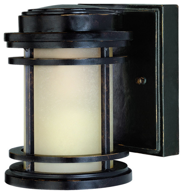Transitional Outdoor Wall Lights : La Mirage 1 Light Outdoor Wall Lights in Winchester - Transitional - Outdoor Wall Lights And ...