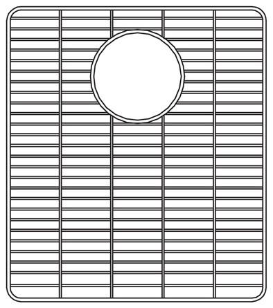 Houzer Wirecraft Bottom Grid X