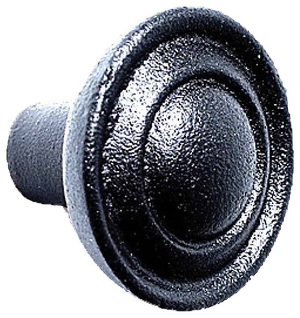 Cabinet Knobs Wrought iron Black Cabinet Knobs / Pulls rustic-cabinet ...