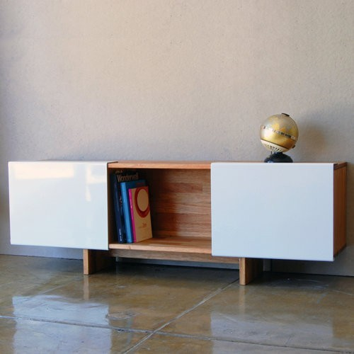 Laxseries 3x shelf with base modern buffets and for Mash studios lax