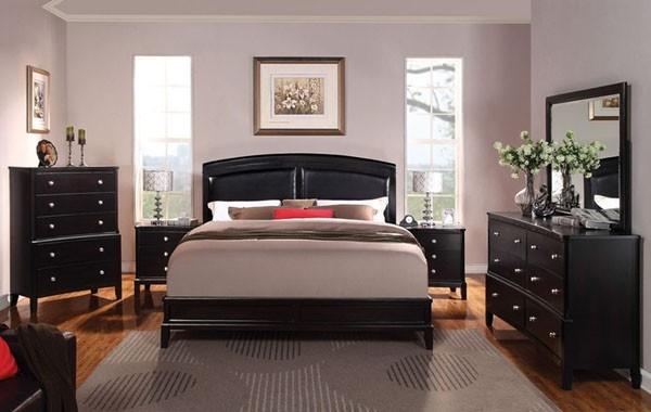 Acme furniture abram espresso 5 piece queen bedroom set 21400q 5set contemporary bedroom for Salt lake city bedroom furniture