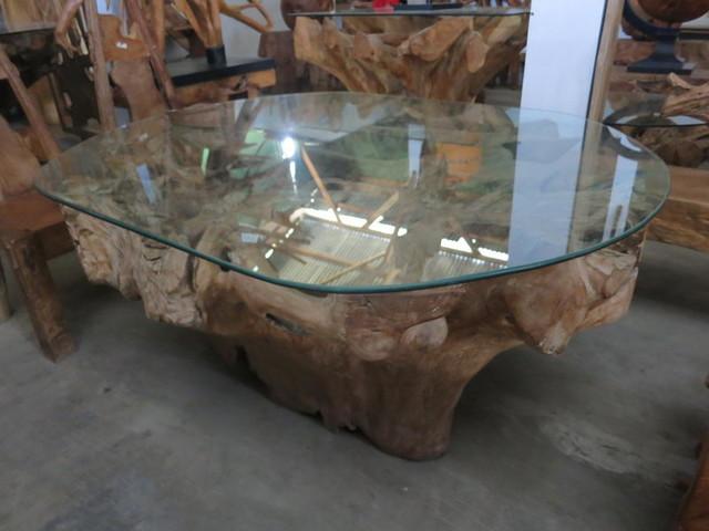 Teak Root Rustic Other By Devina Living Bali Wood Slab