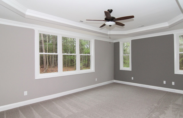 Master Bedroom Tray Ceiling Ideas Transitional Raleigh By Stanton Homes