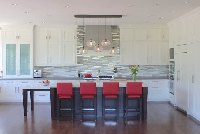 Owl hill residence transitional kitchen san for Kitchen cabinets 2019