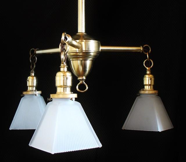 Brass Kitchen Three-Light