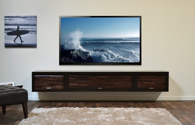 ... TV Console - ECO GEO Espresso modern-entertainment-centers-and-tv