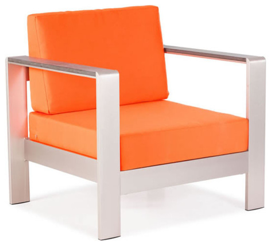 Cosmopolitan Armchair by Zuo Modern Contemporary Outdoor Lounge Chairs