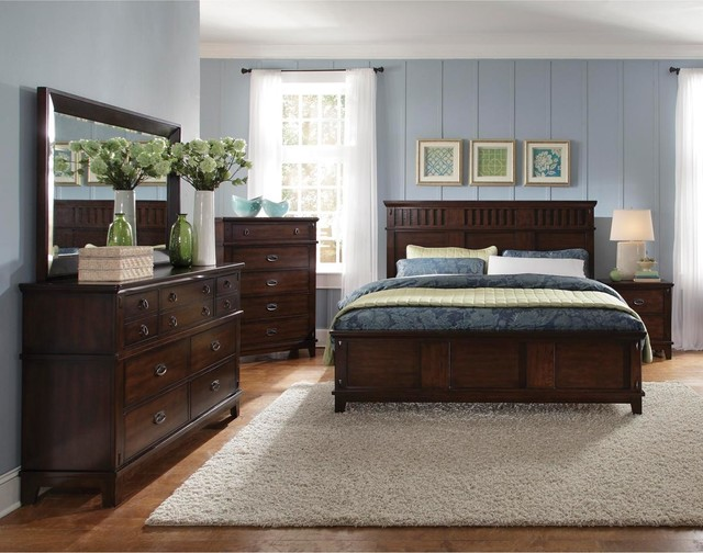 Standard furniture sonoma collection 6 piece queen bedroom set bedroom furniture sets salt for Bedroom furniture salt lake city