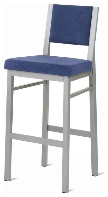 Amisco Payton Upholstered Back Non Swivel Stool 40103