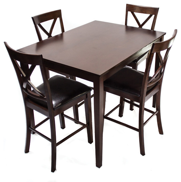 counter height dinette traditional indoor pub and bistro sets by