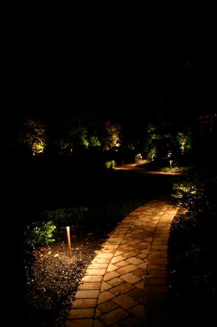 Nashville Landscape Garden Lighting