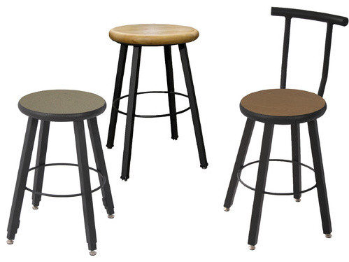 Counter Height Modern Stools : ... Height Square Tube Stool - Modern - Bar Stools And Counter Stools