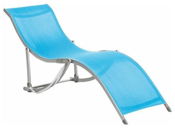 Chaise longue bain de soleil pliable chaza modern - La chaise longue saint lazare ...