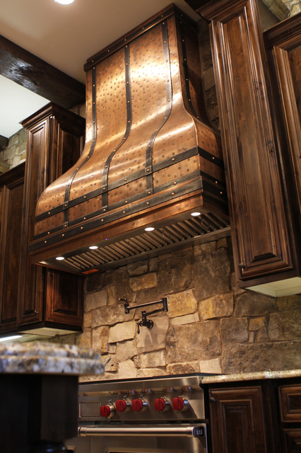 Camillia Kitchen Copper Range Hood By Art Of Rain