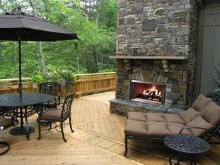 Heat & Glo Montana Wood Fireplace