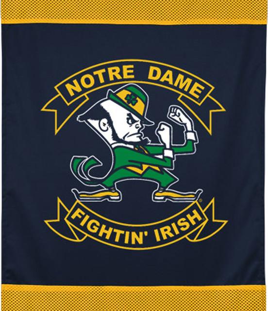 Ncaa Notre Dame Fighting Irish Football Wall Hanging