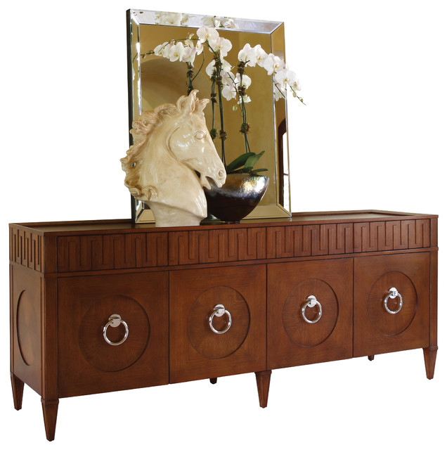 Global Views French Key Everything Cabinet Transitional