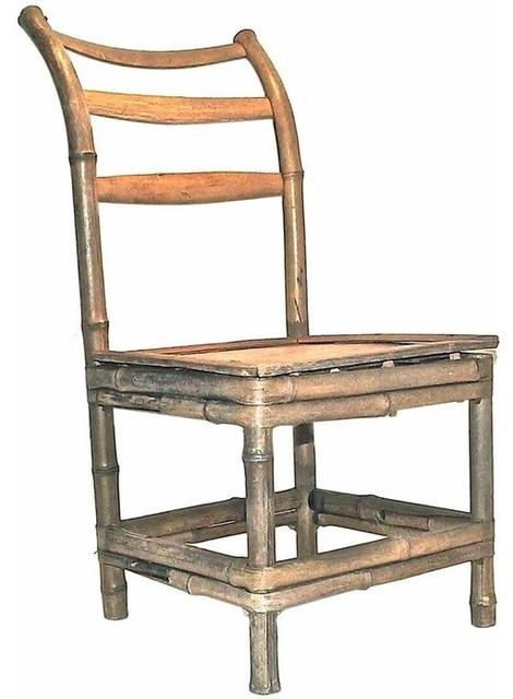 Antique Bamboo Child 39 S Chair Traditional Dining Chairs New York B