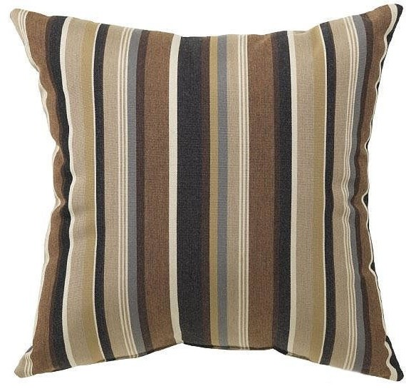 Large Decorative Outdoor Pillows : Large Square Outdoor Throw Pillow - Traditional - Outdoor Cushions And Pillows