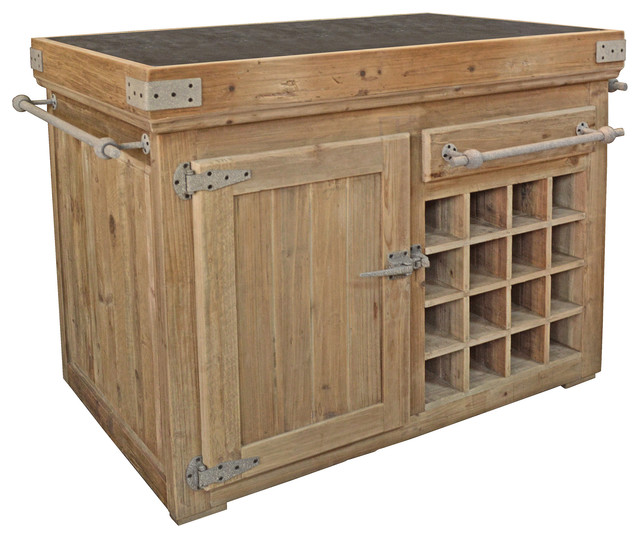 50 5 W Kitchen Island traditional kitchen islands and kitchen carts