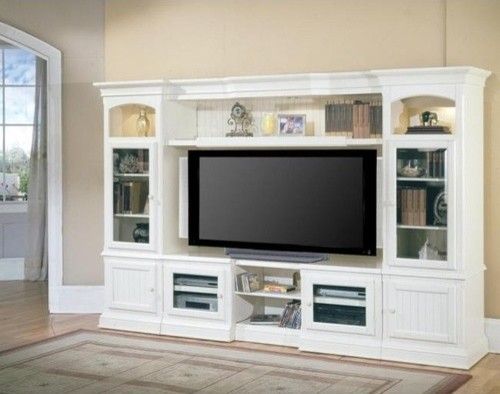 Parker House Entertainment Center, Hartford - Modern - Bookcases - by Amazon