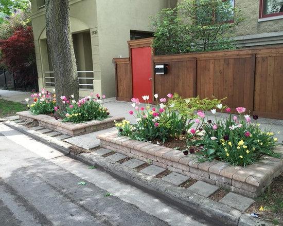 Exposed Bulb Garden Design Ideas Renovations Photos