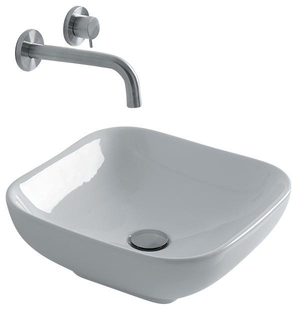 15 Bathroom Sink : Vessel Bathroom Sink, 15.7