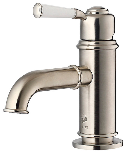 brushed nickel faucet bathroom  poxtel, Bathroom decor