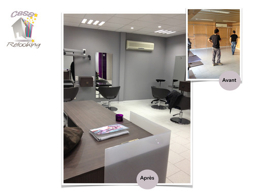 Salon de coiffure avant apr s casa relooking bastia for Relooking salon avant apres