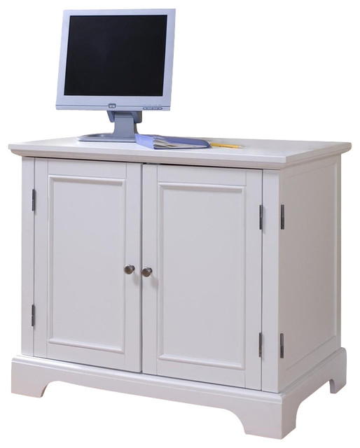 Compact Computer Cabinet - Contemporary - Desks And Hutches - by ShopLadder