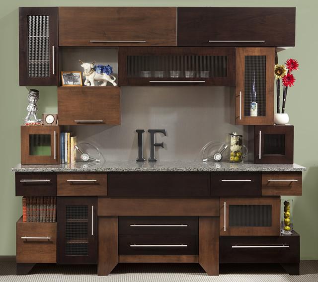 Cubist Kitchen - Modern - Kitchen Cabinetry - cleveland - by Ron Corl Design