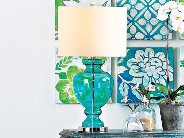 Ocean Blue Table Lamp Tropical Table Lamps